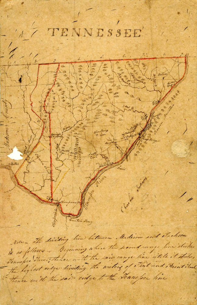Limestone Tennessee Map.Maps Of Al Tn Matthew Rhea 1830