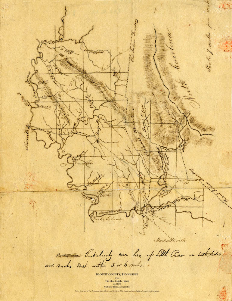Perry County Tennessee Map.Maps Of Al Tn Matthew Rhea 1830