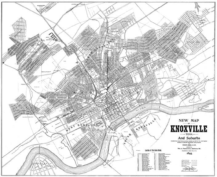 Knoxvivlle, TN Catalog - Charles A. Reeves, Jr. on clermont county street map, knox indiana, yankton county street map, greenville county street map, bartholomew county street map, el paso county street map, meade county street map, lancaster county street map, niagara county street map, parker county street map, york county street map, crawford county street map, brown county street map, center street map, kirtland street map, monroe county street map, hamilton county street map, sarpy county street map, knox in map, ottawa county street map,