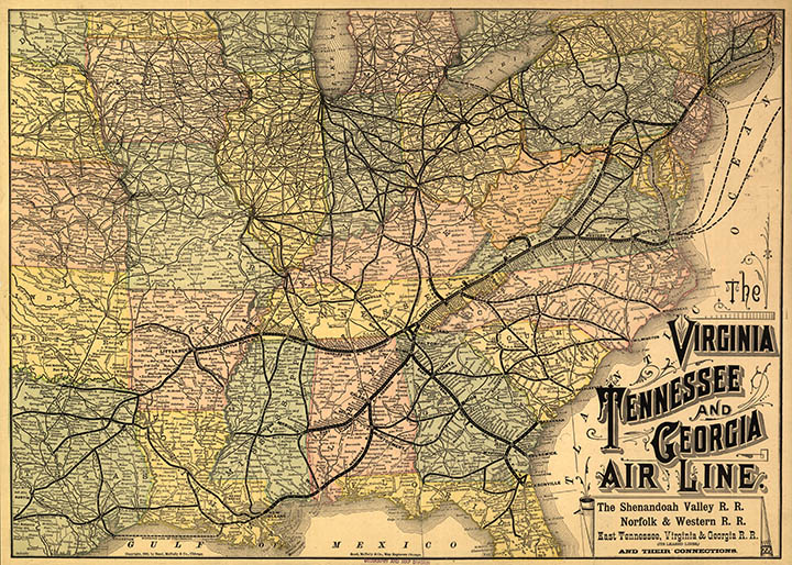 Map Catalog Charles A Reeves Jr - Map of us railways